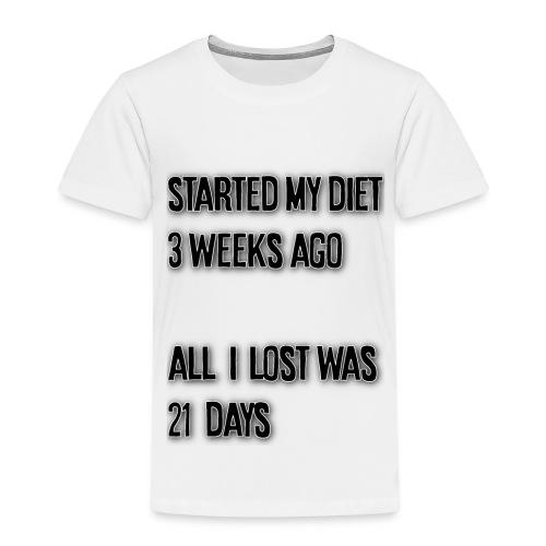 Dieet - Kinderen Premium T-shirt