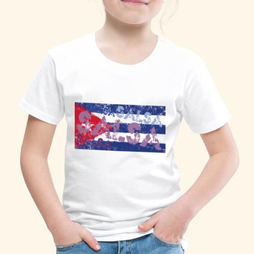 Cuban salsa and Cuban flag dance shirt - Kids' Premium T-Shirt
