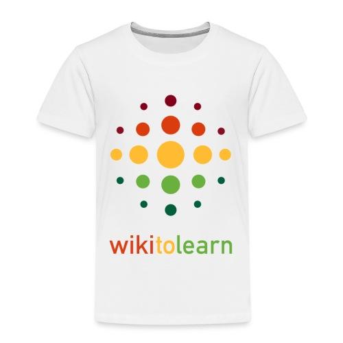wikitolearn-logo - Maglietta Premium per bambini