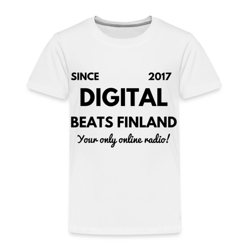 SINCE 2017 Digital Beats Finland - Kids' Premium T-Shirt