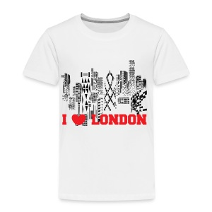 I LOVE LONDON SKYCRAPERS - Camiseta premium niño