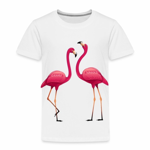 collection double flamant rose - T-shirt Premium Enfant