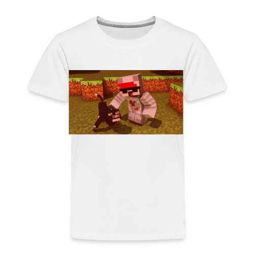 Repreax and his cat - Kinder Premium T-Shirt