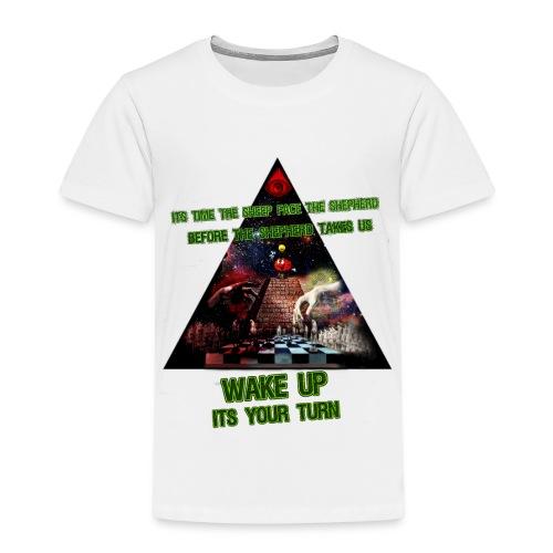 lys illuminati chess - Børne premium T-shirt