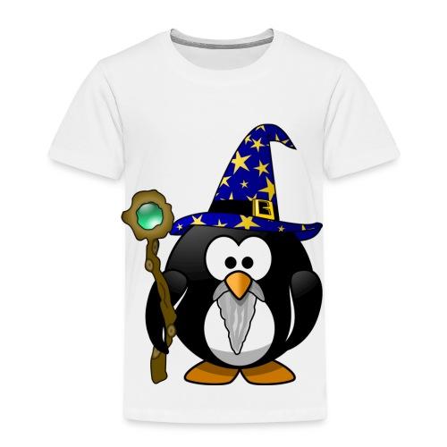 Gandalf der Pinguin mit Zauberstab! Geschenk - Kinder Premium T-Shirt