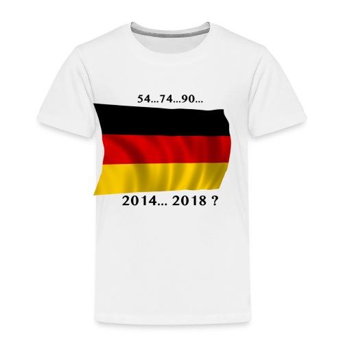 Deutschland Fussball WM Geschenkidee - Kinder Premium T-Shirt
