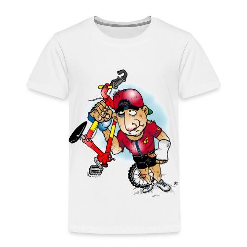 BoarderMax Bike Crash - Kinder Premium T-Shirt