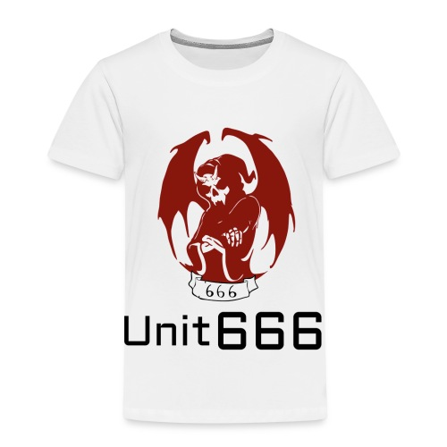 Unit 666 Front Print with text type 2. - Kids' Premium T-Shirt