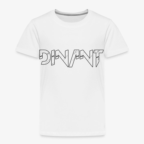 Dinant logo wit - Kinderen Premium T-shirt