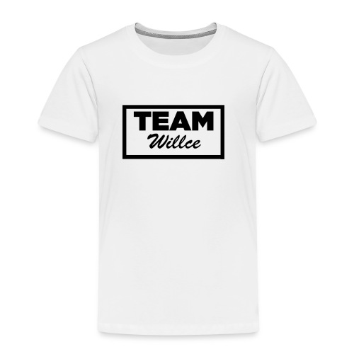 Willce merchandise Black - Premium-T-shirt barn