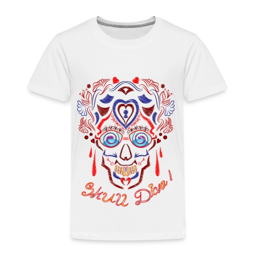 Skull Tattoo Art - Kids' Premium T-Shirt