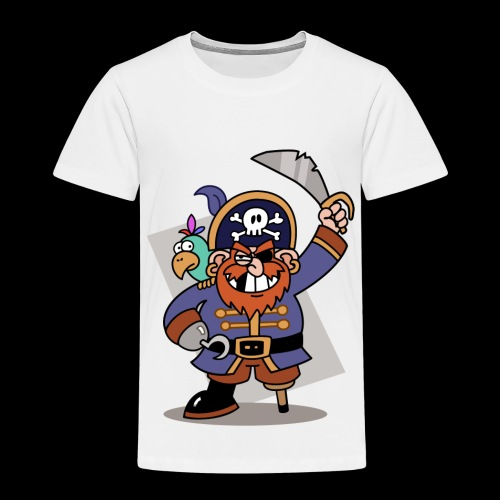 Pirat Zahnlücke mit Farbagallo - Kinder Premium T-Shirt