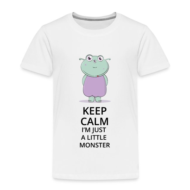 Keep Calm - Little Monster - Petit Monstre