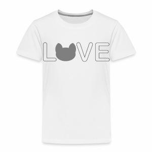 Love cats - Kinder Premium T-Shirt