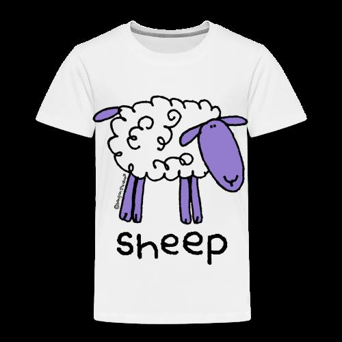 'sheep' - bang on the door - Kids' Premium T-Shirt