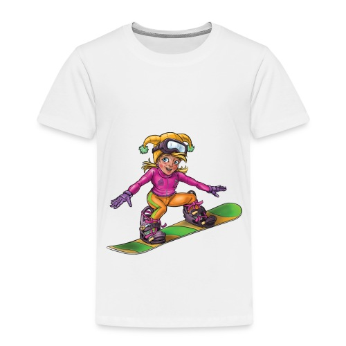 Little snowboarder - Kids' Premium T-Shirt