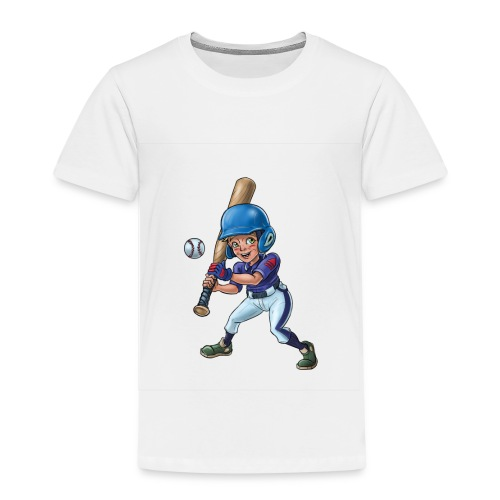 Little baseball player - Kids' Premium T-Shirt