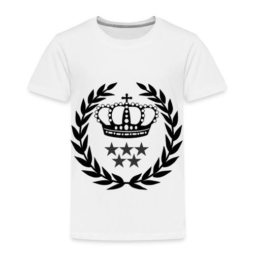 5 Star Lorbeerenkranz mit Krone - Kinder Premium T-Shirt