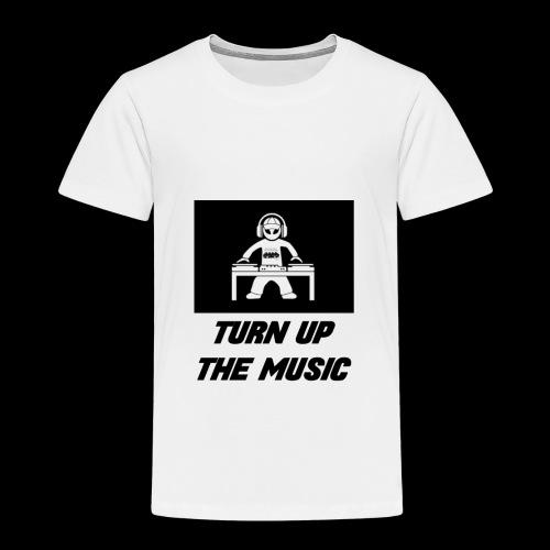 TURN UP THE MUSIC - Camiseta premium niño