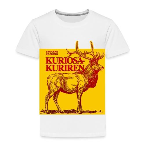 Stiliserad älg - Premium-T-shirt barn