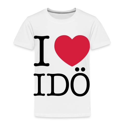 Idö svart text - Premium-T-shirt barn