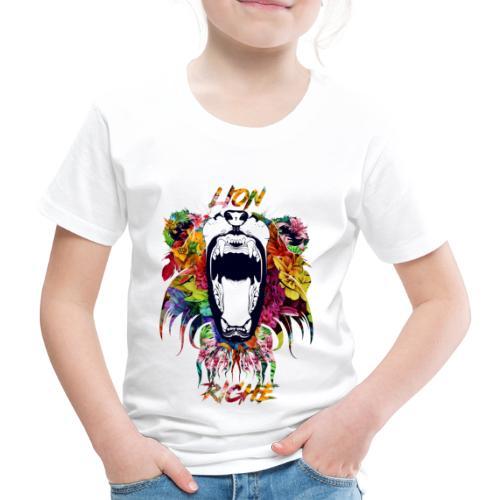 Lion Riche tête de lion ( édition exclusif ) - T-shirt Premium Enfant
