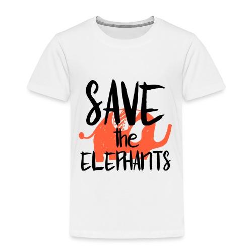 Save the Elephants - Kids' Premium T-Shirt
