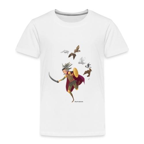 le gladiateur et ses chouettes nocturnes - T-shirt Premium Enfant
