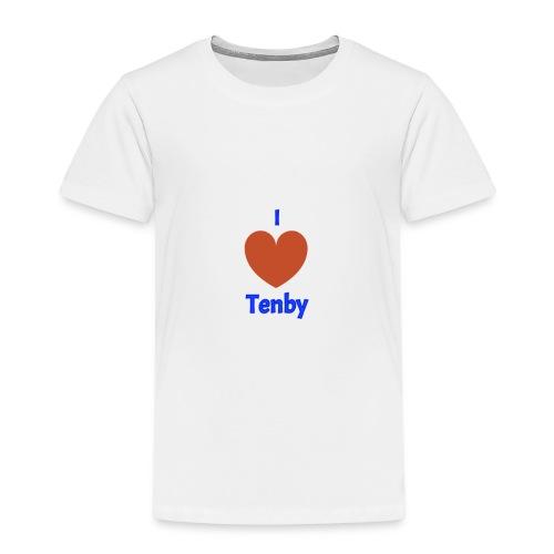 I love Tenby - Kids' Premium T-Shirt