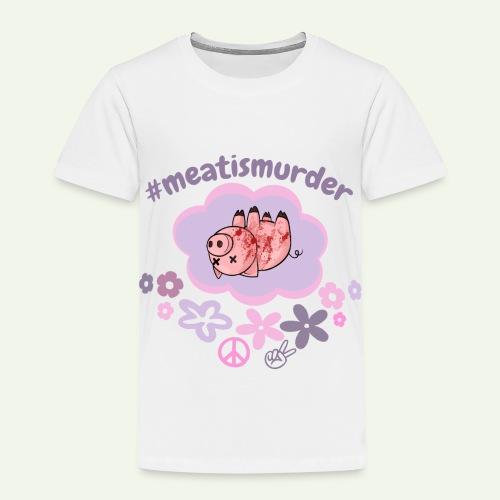 #meatismurder - Kinderen Premium T-shirt