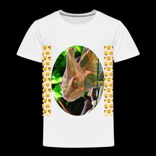 Pascal das Chamäleon - Kinder Premium T-Shirt