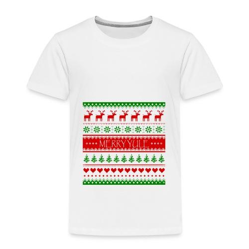 merry yule - T-shirt Premium Enfant