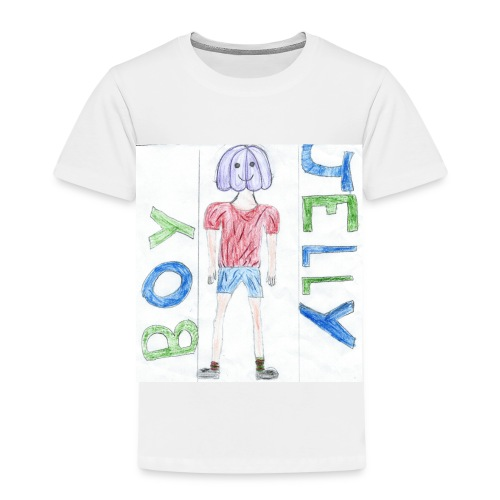 Awesome drawing made by: 'Anonymous' - Kids' Premium T-Shirt