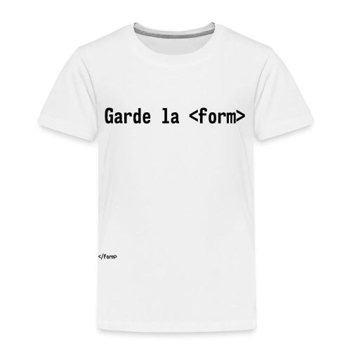 Design_dev_blague - T-shirt Premium Enfant