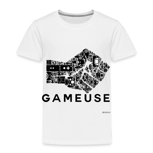 POING GAMEUSE - T-shirt Premium Enfant