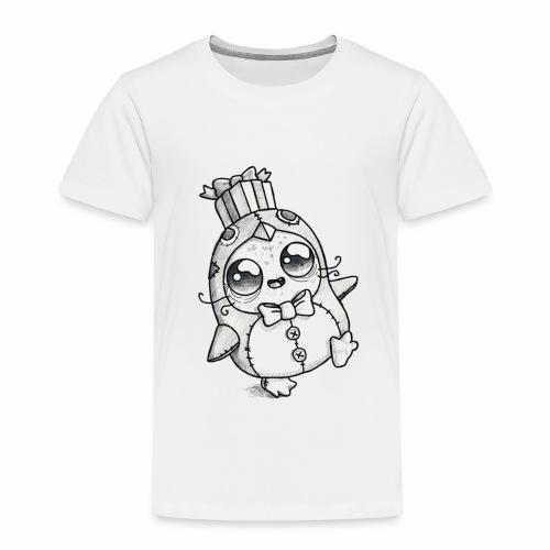 zombie pingvin - Børne premium T-shirt