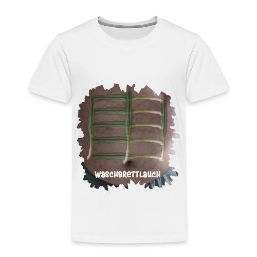 Waschbrettlauch - Kinder Premium T-Shirt