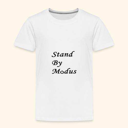 Schrift schwarz - Kinder Premium T-Shirt