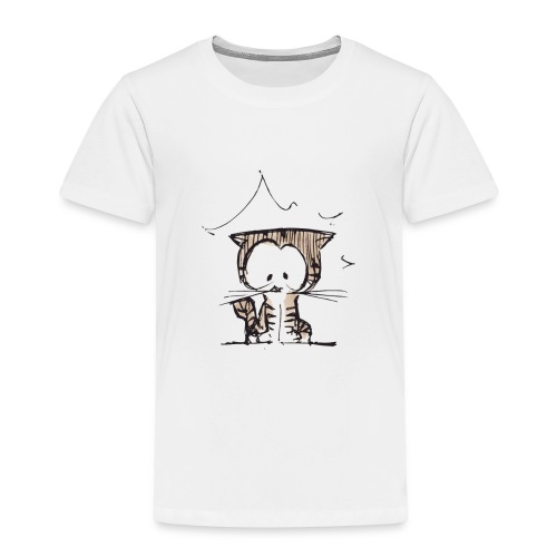 Cat 06o - T-shirt Premium Enfant