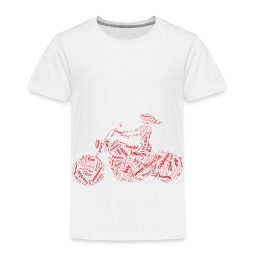 Female Riders UK - Kids' Premium T-Shirt