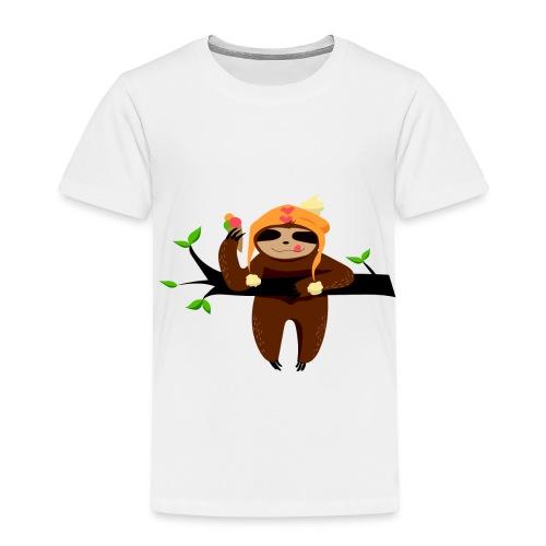 FaultierEis - Kinder Premium T-Shirt