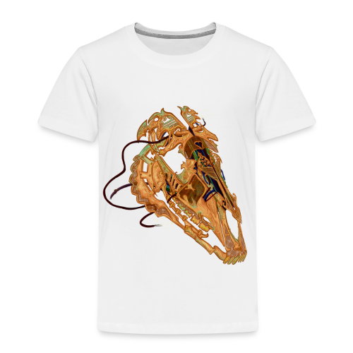 Crâne Câblé - T-shirt Premium Enfant