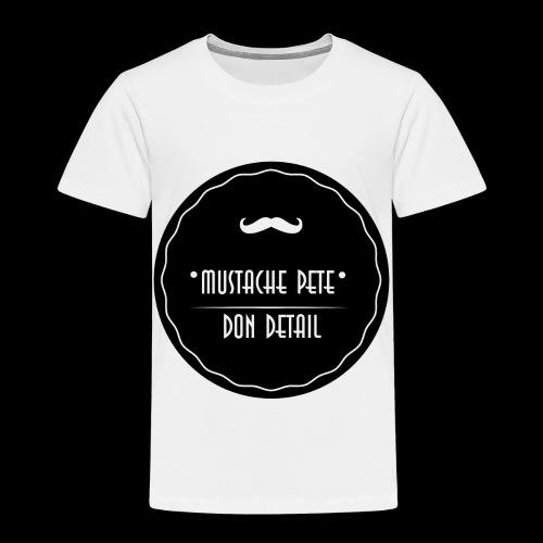 Mustache Pete Logo 1 - Kinder Premium T-Shirt