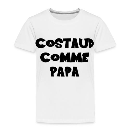 Body bébé garçon papa fun et rigolo - T-shirt Premium Enfant