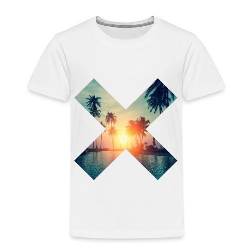 Palm Beach Palmenstrand Urlaub Sonne - Kinder Premium T-Shirt