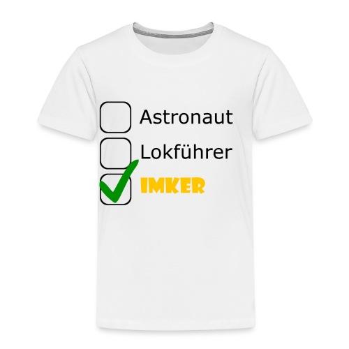 Astronaut, Lokführer, Imker - Kinder Premium T-Shirt