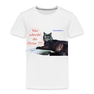 Gourmetkater Presse - Kinder Premium T-Shirt