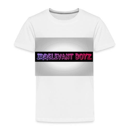 Irrelevant Boyz Grey And Luminous - Kids' Premium T-Shirt