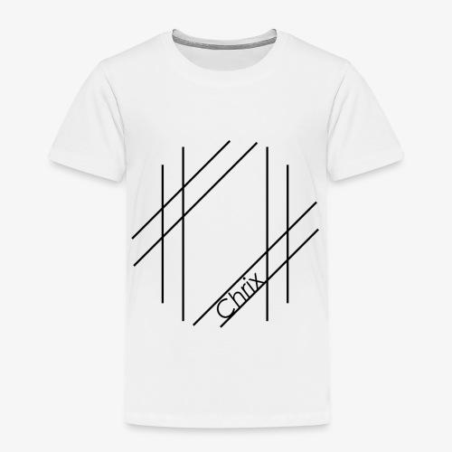 Chrix Style Logo Schwarz - Kinder Premium T-Shirt