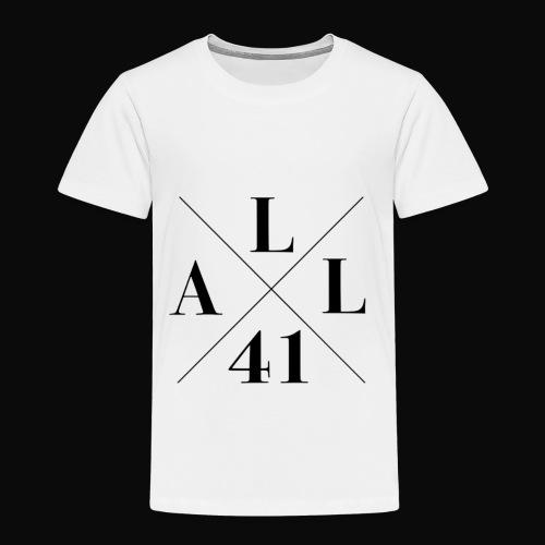 ALLx41 X-logo - Lasten premium t-paita